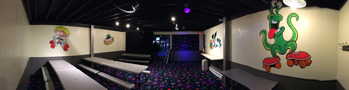 TraXside Party Room